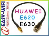 #KONEKTOR HUAWEI E620 E630 23cm #LOW LOSS RG174 #